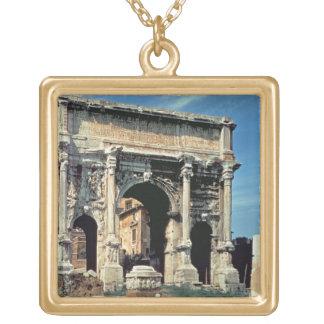 Arco triunfal de Septimius Severus, dedicado adent Colgante Cuadrado