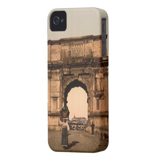 Arco triunfal de Titus, Roma, Lazio Italia iPhone 4 Protectores