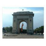 Arco triunfal postal