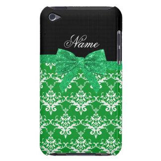 Arco verde conocido de encargo del brillo del iPod Case-Mate funda