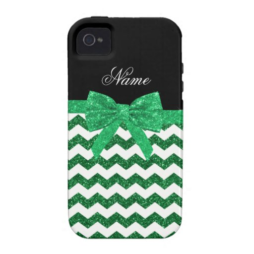 Arco verde conocido personalizado de los galones iPhone 4 funda