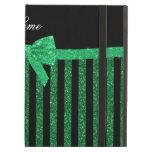 Arco verde negro conocido de encargo de las rayas