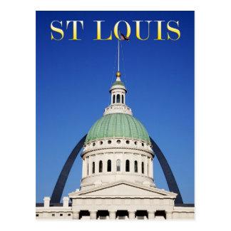 Arco viejo del tribunal y de la entrada, St. Louis Postal