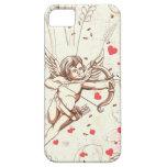 Arco y flecha del Cupid iPhone 5 Case-Mate Protectores
