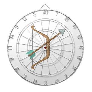 Arco y flecha tabla dardos
