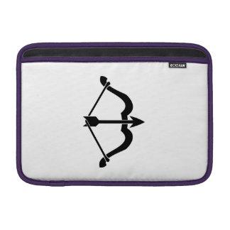 Arco y flecha funda para macbook air