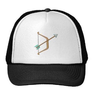 Arco y flecha gorros bordados