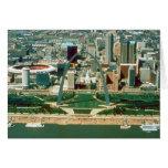 Arco y horizonte de St. Louis Tarjeta De Felicitación