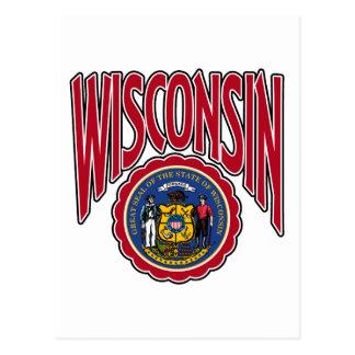 Arco y sello de Wisconsin Postal