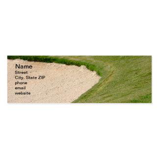 Arcón del golf tarjetas de visita