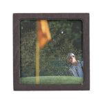 Arcón tirada (golf) caja de regalo de calidad