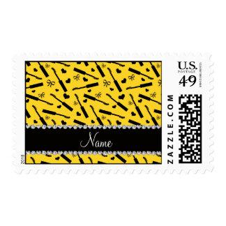 Arcos amarillos conocidos personalizados de los sellos