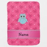 Arcos bling personalizados del rosa de los mantas de bebé