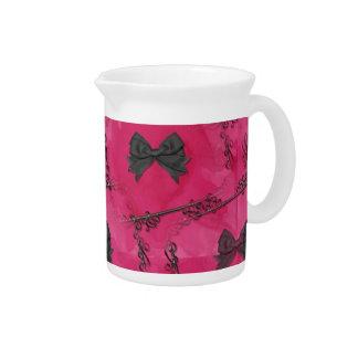 Arcos bonitos del lil jarra de beber