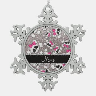 Arcos conocidos de encargo del rosa de los cráneos adorno
