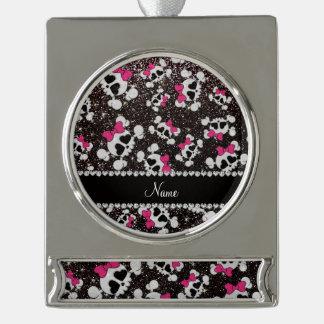 Arcos conocidos personalizados del rosa de los adornos personalizables