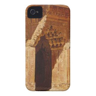Arcos curiosamente labrados de la piedra arenisca iPhone 4 Case-Mate cárcasa