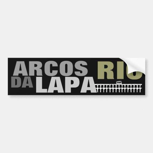 ARCOS DA LAPA - RIO BUMPER STICKER