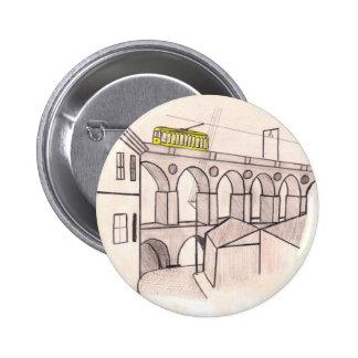 Arcos da Lapa,Santa Teresa, Rio de Janeiro Pinback Button