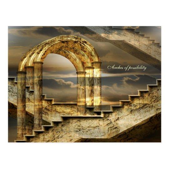 Arcos de la posibilidad postales