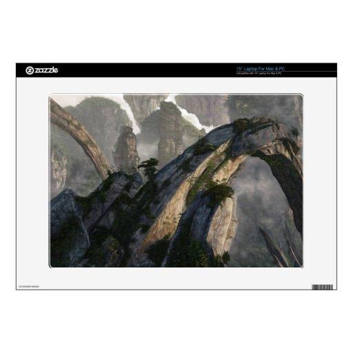 Arcos de la roca portátil calcomanía
