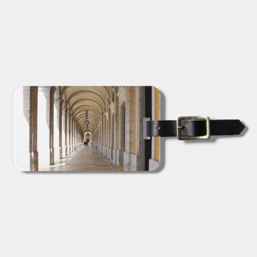 Arcos de Lisboa Etiquetas Para Maletas