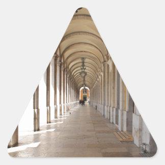 Arcos de Lisboa Pegatina Triangular