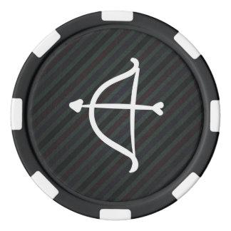 Arcos de los Cupids mínimos Juego De Fichas De Póquer