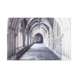 Arcos de los elementos de la arquitectura impresion de lienzo