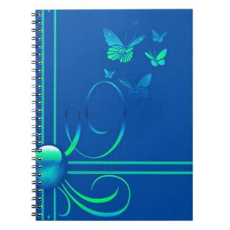 Arcos de mariposa 3 spiral notebooks