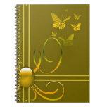 Arcos de mariposa libro de apuntes