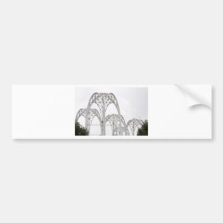 Arcos del centro de la ciencia de Seattle Etiqueta De Parachoque