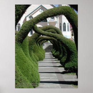 Arcos del Topiary en Zarcero, Costa Rica Impresiones