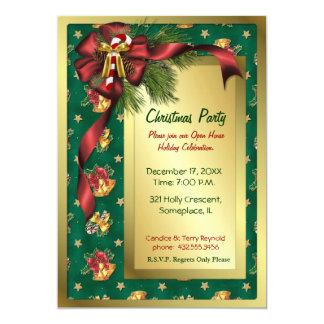 Arcos e invitación del navidad de Belces