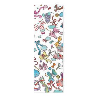 Arcos en el cielo tarjetas de visita mini