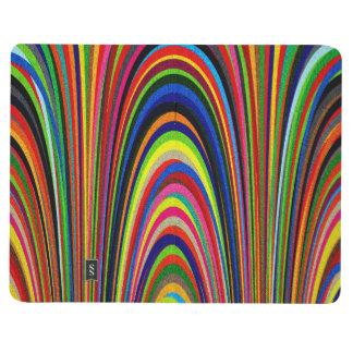 Arcos geométricos coloridos cuaderno