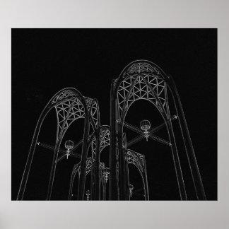 Arcos invertidos impresiones