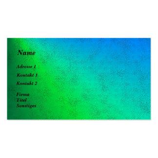 arcos iris azules verdes en elefante skin leder óp plantillas de tarjetas personales