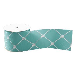 Arcos minúsculos en diseño de la cinta del trullo lazo de tela gruesa