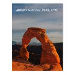 Arcos parque nacional, postal de Utah, los