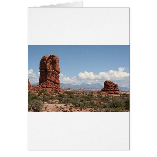 Arcos parque nacional, Utah, los E.E.U.U. 11 Tarjeta De Felicitación