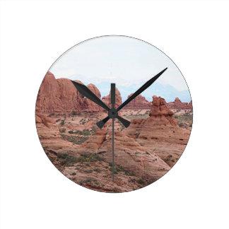 Arcos parque nacional, Utah, los E.E.U.U. 12 Reloj De Pared