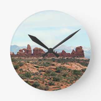 Arcos parque nacional, Utah, los E.E.U.U. 13 Reloj De Pared