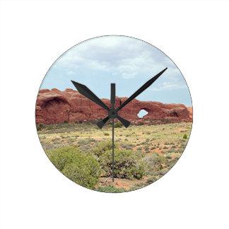 Arcos parque nacional, Utah, los E.E.U.U. 15 Relojes