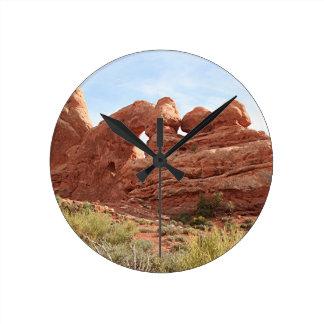 Arcos parque nacional, Utah, los E.E.U.U. 16 Reloj De Pared