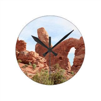 Arcos parque nacional, Utah, los E.E.U.U. 17 Reloj