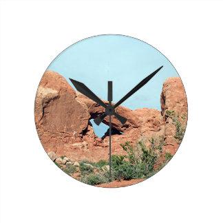 Arcos parque nacional, Utah, los E.E.U.U. 18 Reloj De Pared
