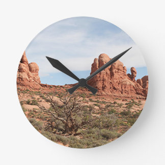 Arcos parque nacional, Utah, los E.E.U.U. 20 Reloj