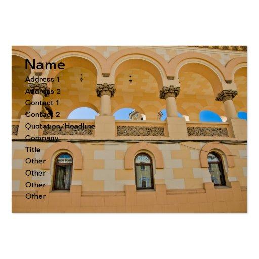 Arcos Plantilla De Tarjeta Personal