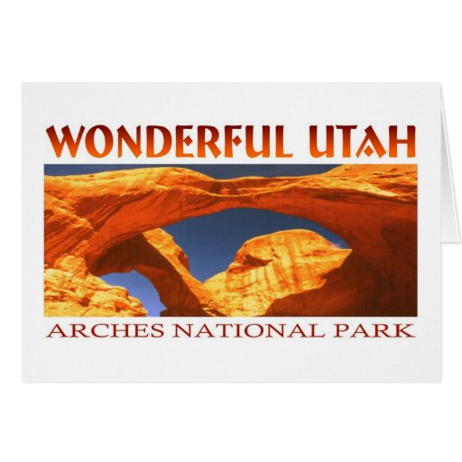 Arcos Utah Tarjeta De Felicitación